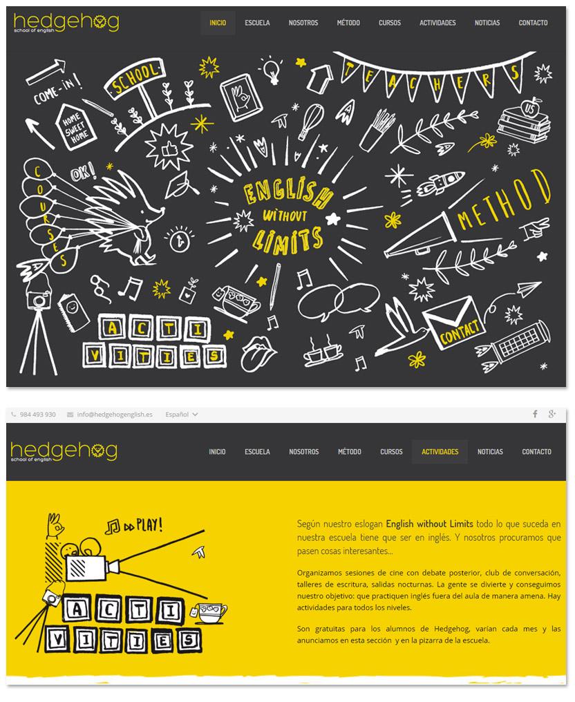 Diseño web para colegios